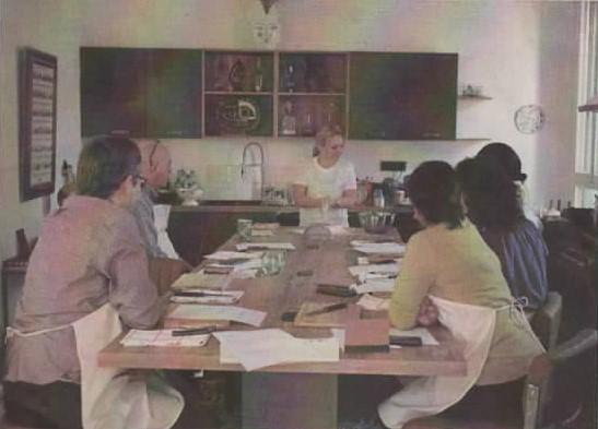 Une chef londonienne en visite à la Villa Kumquats